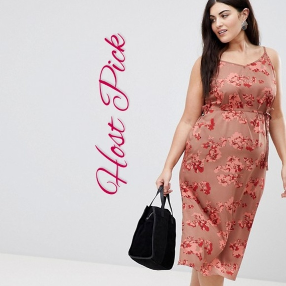 33459ee4634f ASOS Curve Dresses | Nwt Ax Paris Plus Floral Wrap Dress | Poshmark